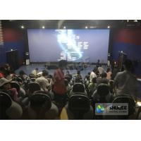 Wholesale 220V 5D Motion Theater System , Luxury Electric 3DOF 5D Seats With Genuine Leather from china suppliers