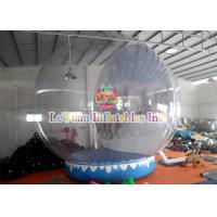 Wholesale 3m 4m 5m Clear Bubble Tent Outdoor Inflatable Snowball for Christmas from china suppliers