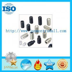 Wholesale Stainless Steel Set Screw,Zinc set screw,Steel set screw,Hex socket set screw,ss304 set screw,black set screw,set screw from china suppliers