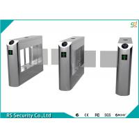 Buy cheap High Security Flexible Smart Supermarket Swing Barrier Gate School IR Sensor Turnstile from wholesalers