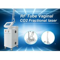 Wholesale White CE Tighten Skin Fractional Co2 Laser Treatment For Stretch Marks , 36 Months Warranty from china suppliers