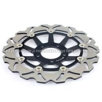 Wholesale 300mm Motorcycle Brake Disc Brake Kits SUZUKI Marauder 800 Aluminum Front Black from china suppliers