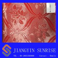 Quality Pvc Embossed Red Color Bag Faux Leather For Ladies Purses / Handbags Non - Toxic for sale