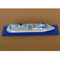 Wholesale Scale 1:1200 Outdoor Decoration Costa Concordia Model , Cruise Ship Business Model from china suppliers