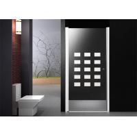 Wholesale Bathroom Pivotech Shower Screens Framed Pivot Shower Door 900 x 1850 mm from china suppliers