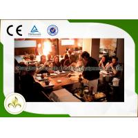 Wholesale Rectangular Teppanyaki Grill Cooktop Table Stainless Steel 304 & Alloy Steel Material from china suppliers