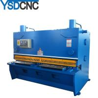 Quality 10' length shear machine for stainless steel YSDCNC sheet plate guillotine shear for sale