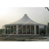 Wholesale Transparent Glass Wall and Glass Door Gazebo Canopy Tents White PVC Cover from china suppliers