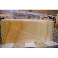 Wholesale Honey Marble Onyx Stone tiles / Slab , onyx vanity tops for bathroom , kitchen from china suppliers