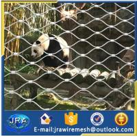 Buy cheap SUS304 stainless steel animals safety netting protecting mesh from wholesalers