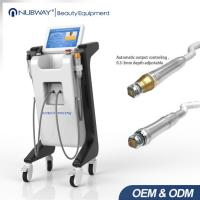 Wholesale 2017 hot selling double handle pieces RF micro-needlewrinkle removal  scar removal ance treatment machine from china suppliers