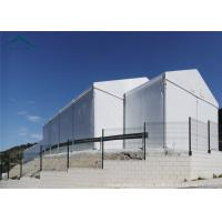 Wholesale White Aluminium Frame Canopy Tents With  Waterproof PVC Fabric Width 15m from china suppliers