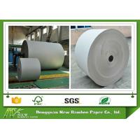 Wholesale 670gsm Grey Paper Roll for printing industry / bottled water plate / statinery / boxes from china suppliers