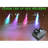 Quality High Velocity Vertical RGB DMX512 LED Up Shot Fog Machine For Colored Smoke for sale
