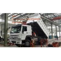 Buy cheap SINOTRUK HOWO dumper truck ZZ3257N3447A 371hp Any color tipper truck from wholesalers