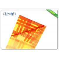 Quality Fancy 38-75 Gsm Weight Colorful Printing Square  Tnt Table Cover Exported to Italy for sale