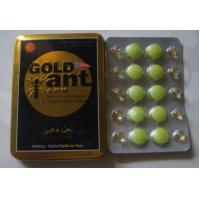 Wholesale Libido Stamina Male Sexual Performance Enhancement Pills / Gold Ant Enhancer Pill from china suppliers