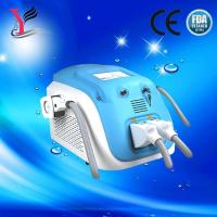 Wholesale Portable double handle OPT SHR Elight hair removal/ SR IPL  skin rejuvenation machine from china suppliers