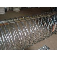 Buy cheap Anti Solarization Concertina Razor Wire from wholesalers