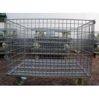 Wholesale Wire Mesh Container with Wheel from china suppliers