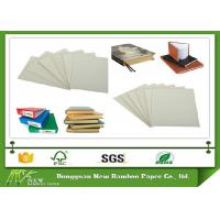 Wholesale Environmently 1050g natural and uncoated Grey Board Card Sheet for stationery from china suppliers
