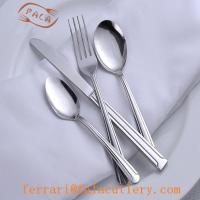 Wholesale Africa Style Cheap Tumble Polish Stainless Steel Cutlery Set from china suppliers