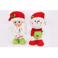 Wholesale 30CM Customizable snowman doll plush Holiday stuffed Toys Of Fiber cotton from china suppliers
