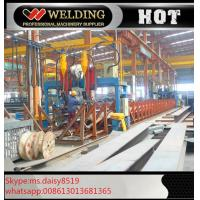 Wholesale Professional H / I Beam Flange And Seam Welding Line Automatic Welding Machine from china suppliers