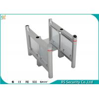Swing Gate Turnstile Security Systems Card Reading Traffic Barrier