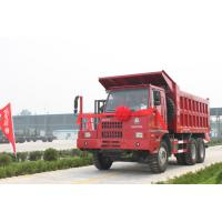 Wholesale Sinotruk HOWO mining dump / tipper special truck 371hp with front lifting cylinder from china suppliers