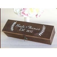 Wholesale hot sale custom design wine gift box wooden box wine box for sale from china suppliers