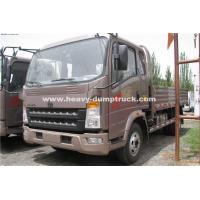 Quality Right Hand 4x2  HOWO Comercial Cargo Truck With 3 M³ Cargo Bucket for sale