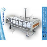 Wholesale Motorized Electric Medical Hospital Beds , Hand Controller Controls Movement from china suppliers