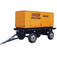 Wholesale Low Noise Trailer Diesel Generator Set 400V 75kw Electrical Type from china suppliers