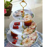 Wholesale Afternoon-tea set fruit bowl creative european-style bone porcelain plate from china suppliers