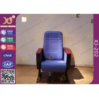 Wholesale Cross Line Back Auditorium Chair Seating For Conference / Church Hall from china suppliers