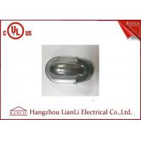 Buy cheap Threaded Indoor / Outside Electrical Conduit With Aluminum Die Casting , 1/2