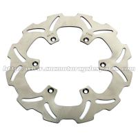 Wholesale Front Left Wave Motorcycle Brake Disc Disk , Light Weight Braking Wavy Discs from china suppliers