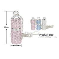 Wholesale OEM Promotional Usb Pen Drive , High Speed Crystal Customized Usb Flash Drive from china suppliers