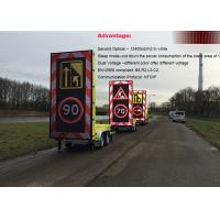 Wholesale Forklift P16 Mobile Portable Variable Message Sign Full Matrix Signs from china suppliers