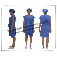 Wholesale Disposable Surgical Gowns Non - woven Hospital Nursing Uniform Patient Protection from china suppliers