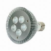 Wholesale 9W LED Spotlight Bulb with High-efficiency, 5pcs Cree LED Light Source/50,000hrs Working Lifespan from china suppliers