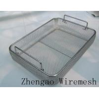 Wholesale household cleaning basket wire mesh cleaning basket from china suppliers