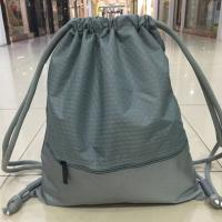 Wholesale Polyester Digital Printing Waterproof String Backpack With Pocket Outside from china suppliers