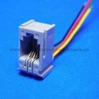 Wholesale Wire Harness to RJ45 LAN Cable Connector Assembly for Phone Cord from china suppliers
