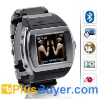 "Wholesale Terminal - 1.5"" Touchscreen Watch Cell Phone (Quadband, Bluetooth) from china suppliers"