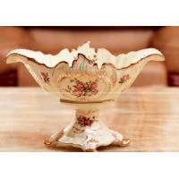 Wholesale elegant porcelain fruit tray elephant style from china suppliers