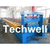 Wholesale 0.8 - 1.5mm Steel Metal Floor Decking Sheet Roll Forming Machine For Roof Floor Deck from china suppliers