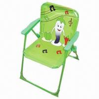 China Children's beach chair, made of 420D oxford and PVC coating on sale
