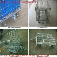 Wholesale 6.0mm wire diameter wire mesh storage  cage/steel storage cabinets/metal storage sheds/security cage/pallet cage from china suppliers